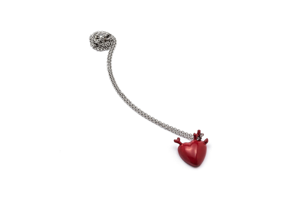 Corazón Medium Red Pendant