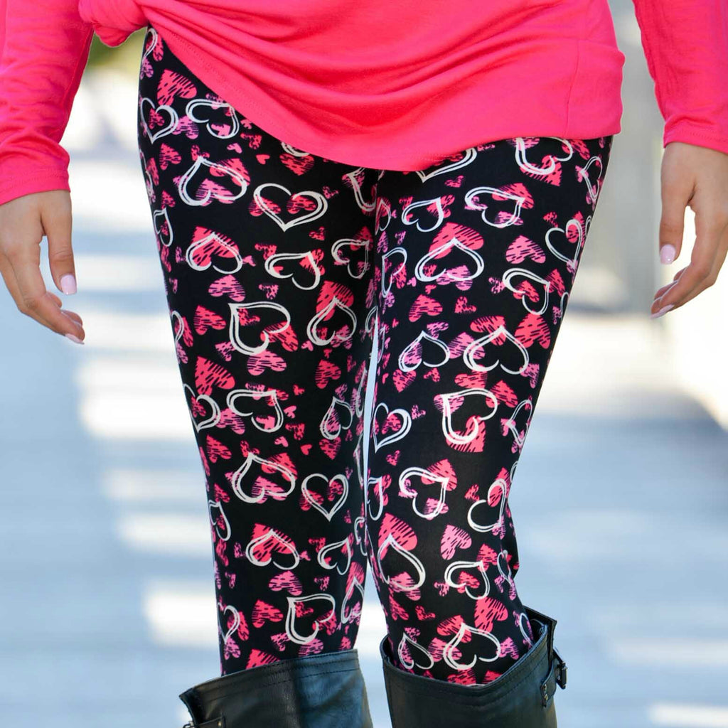 ♥ Valentine's Day Leggings Giveaway