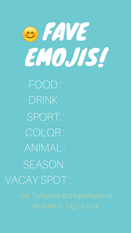 Simply Me Fun - Favorite Emojis