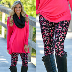 Valentine's Day Heart Leggings Shop Simply Me Boutique Shop SMB