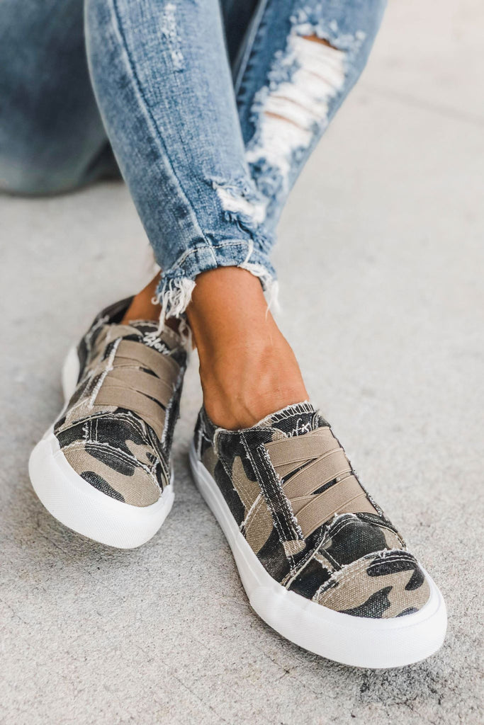 BLOWFISH Marley Slip on Sneaker (Camo) - Simply Me Boutique Shop SMB