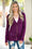 True Colors Plum Snap Cardigan