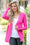 True Colors Hot Pink Snap Cardigan