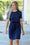 All Day Every Day Knit Dress (Navy)