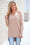 Bright Future Rounded V Neck Sweater (Heathered Camel)