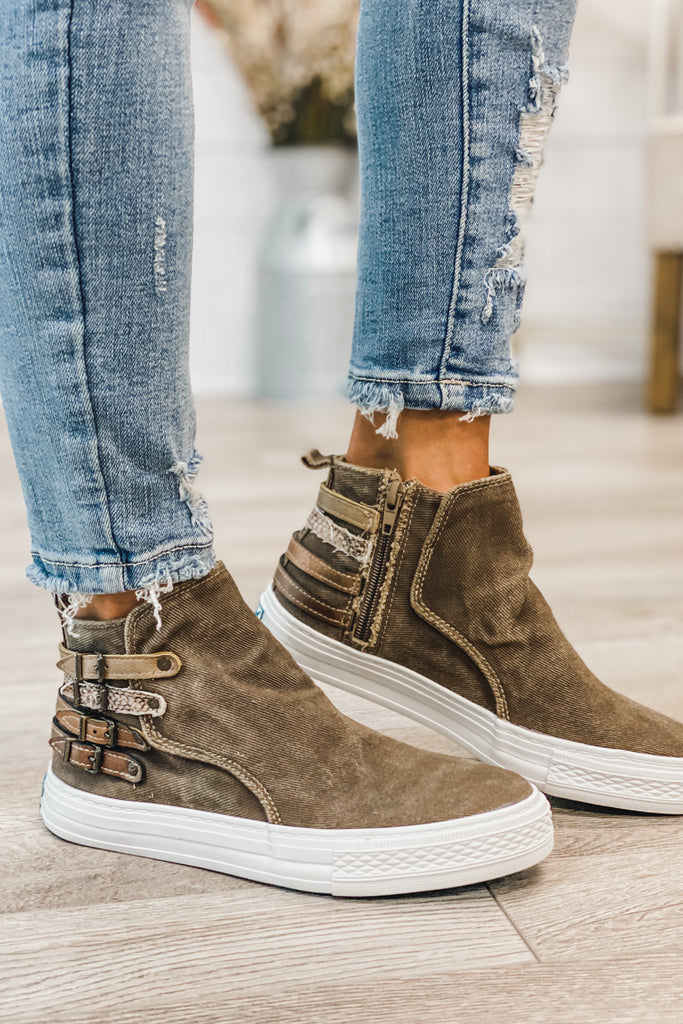 BLOWFISH Kayla Hipster Sneakers (Whiskey)