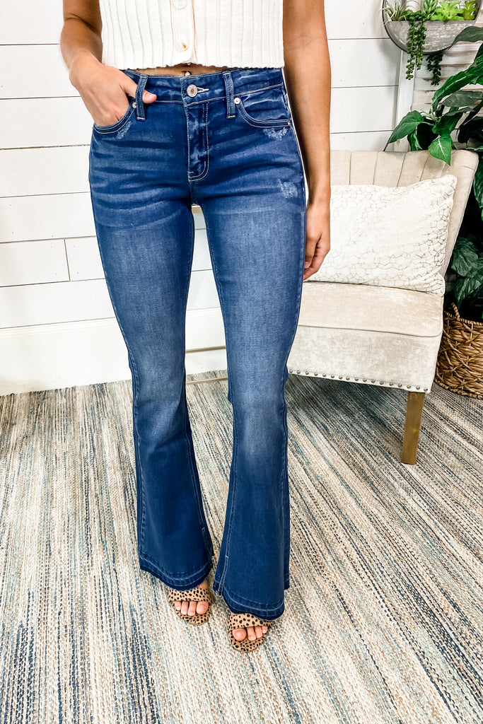 Got a Feeling Flare KANCAN Jeans Simply Me Boutique Sezzle Free Ship