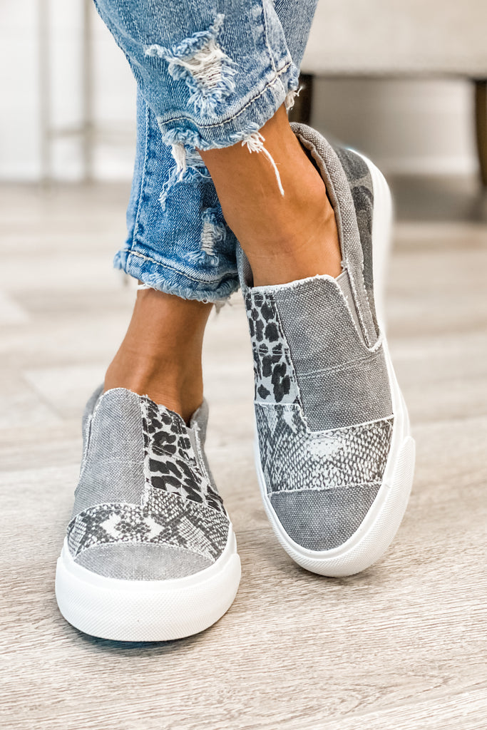 BLOWFISH Maddox (Smoke Snakeprint Grey)