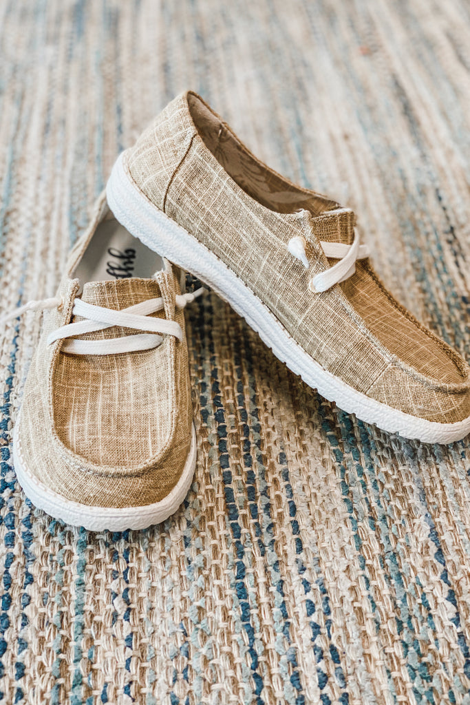 Gypsy Jazz Holly Lightweight Boat Shoes (Sand)