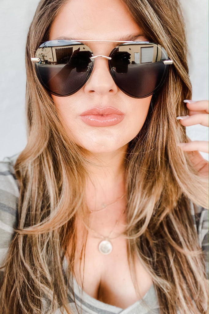DIFF Eyewear Lenox Sunglasses Gold Simply Me Boutique Sezzle Free Shipping
