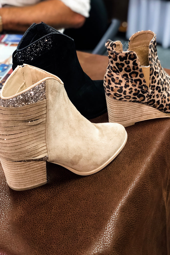 VERY G Glitz and Glamour Booties (Taupe) 𝐑𝐞𝐬𝐭𝐨𝐜𝐤𝐢𝐧𝐠 𝐀𝐮𝐠 𝟐𝟎𝟐𝟏