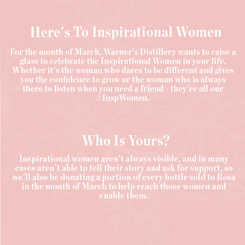 Here's to inspirational women