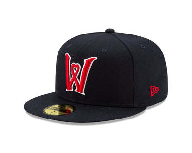 Worcester Red Sox Navy Heart W 5950 Hat