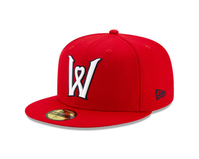 Worcester Red Sox Red Heart W 5950 Hat