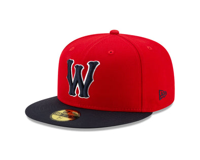 Worcester Red Sox Red/Navy Classic W 5950 Hat