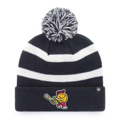 Worcester Red Sox Navy/White Smiley '47 Knit