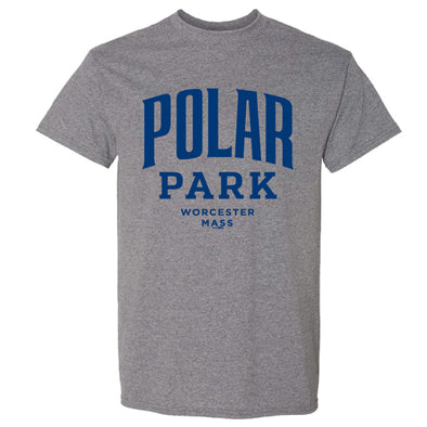 Worcester Red Sox Heather Grey Polar Park Tee