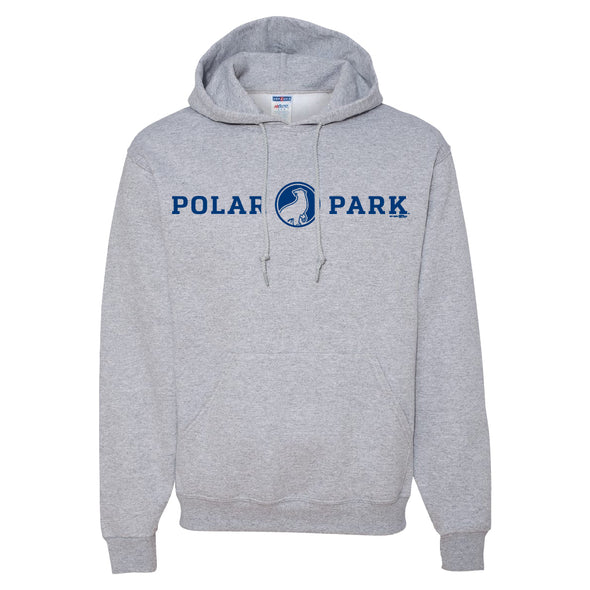 Worcester Red Sox Sport Gray Polar Park Hood