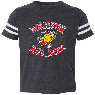 Worcester Red Sox Navy Toddler Luggage Tee