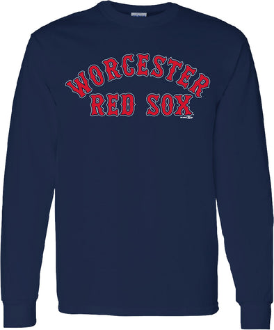 Worcester Red Sox Navy Classic Longsleeve