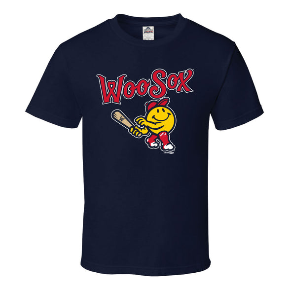 Worcester Red Sox Navy Youth Primary Tee