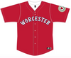Worcester Red Sox Red Worcester 6 Jersey