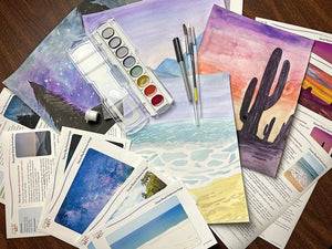 Watercolor Art Subscription Box