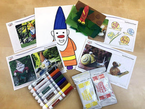 Young Artist Series: Gnome & Snail Art Box I Create Art