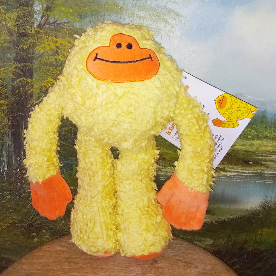 The Sunsquatch Plushie