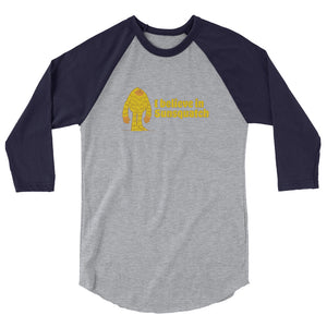 "The Sunsquatch ""I'm a Believer"" Baseball Tee"
