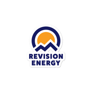 The ReVision Energy Logo Sticker