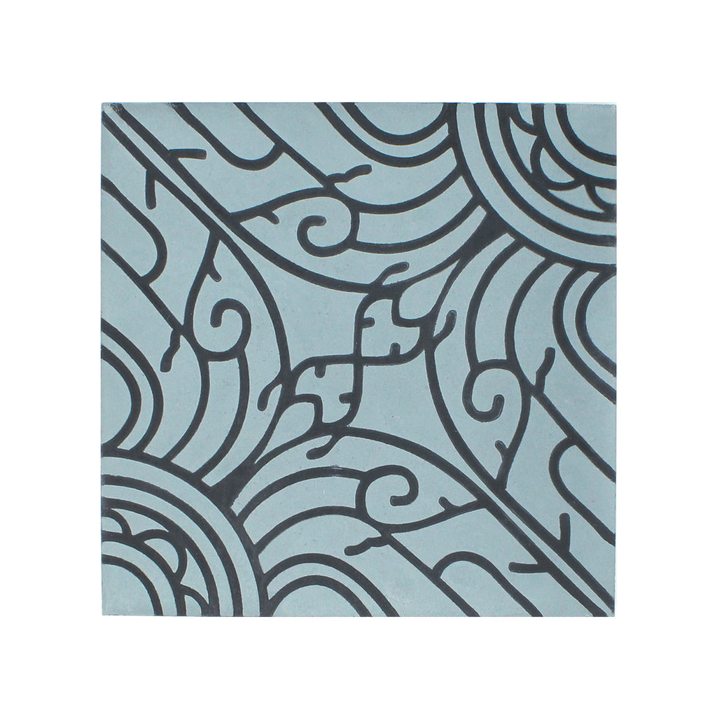 Fatto A Mano Cement Tile - Lot of 63.84 sq ft