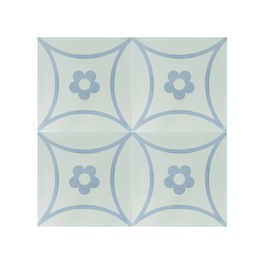 Margherita Cement Tile - Lot of 47.88 sq ft