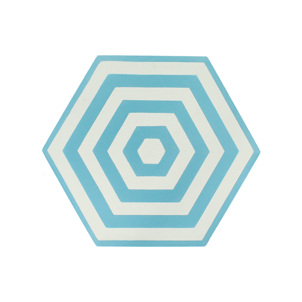 Ombrello Hexagon Cement Tile