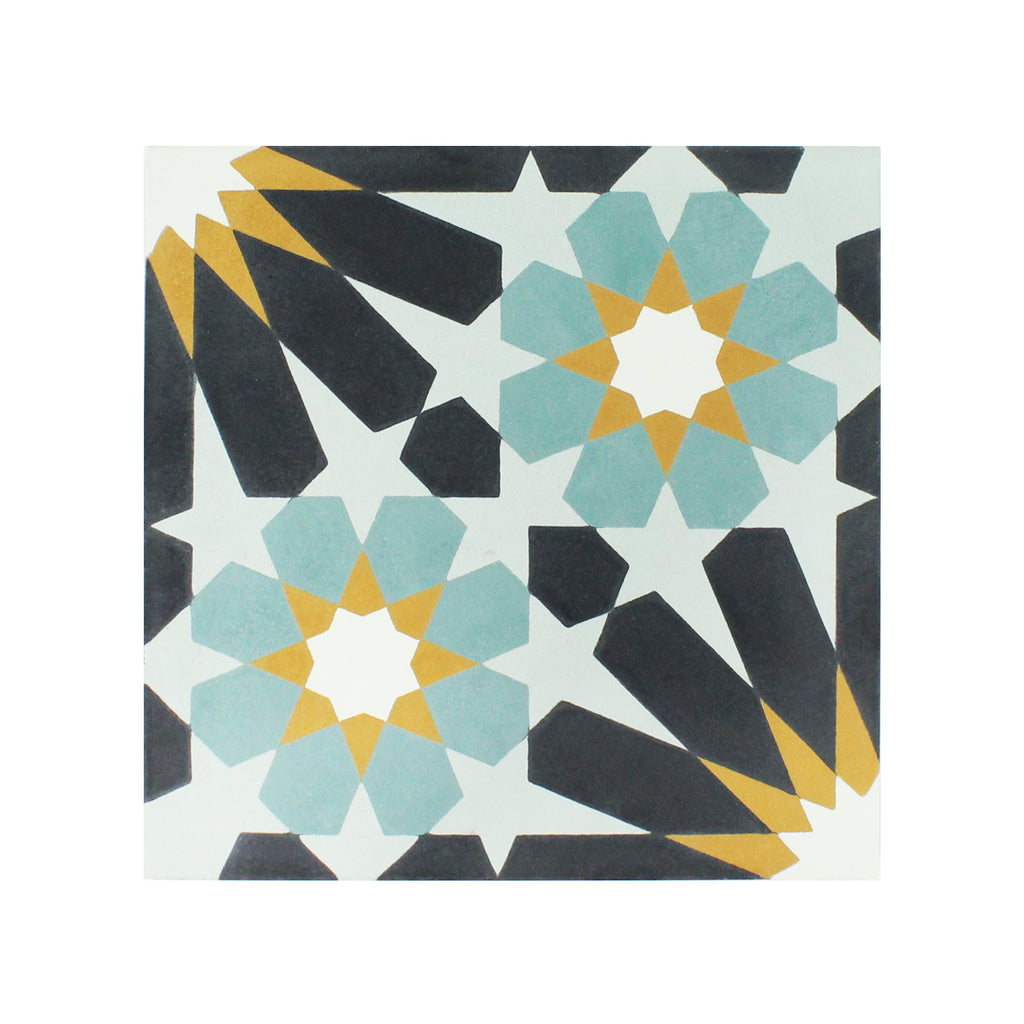 Stelle-II Cement Tile