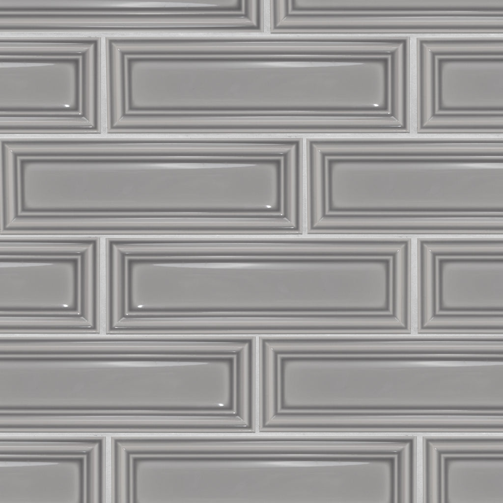 Frame 3x10 Grey Subway Tile