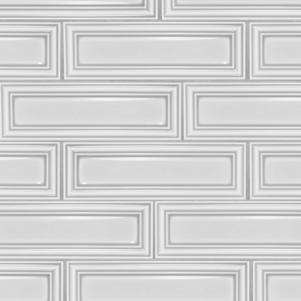 Frame 3x10 White Subway Tile