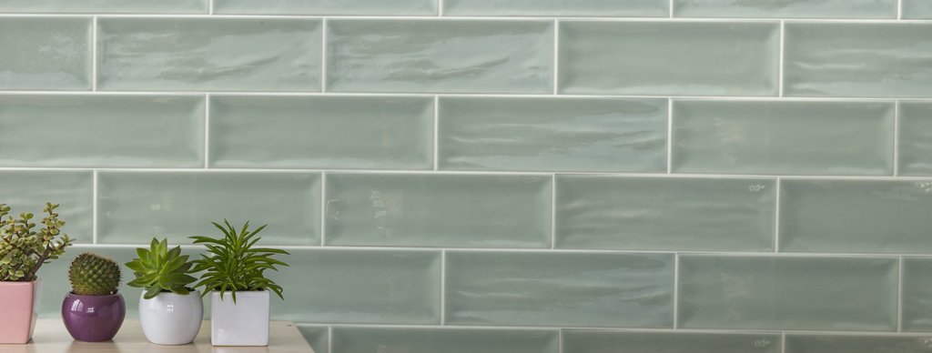 Aria 4x12 Green Subway Tile
