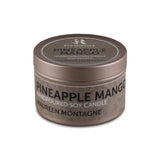 Pineapple Mango (Hand Poured Soy Candles) - Small Tin Can