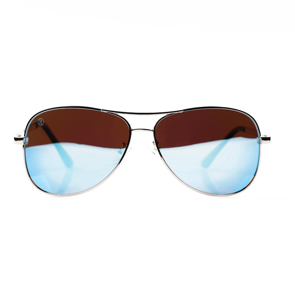 Gold and Blue Aviator Specs