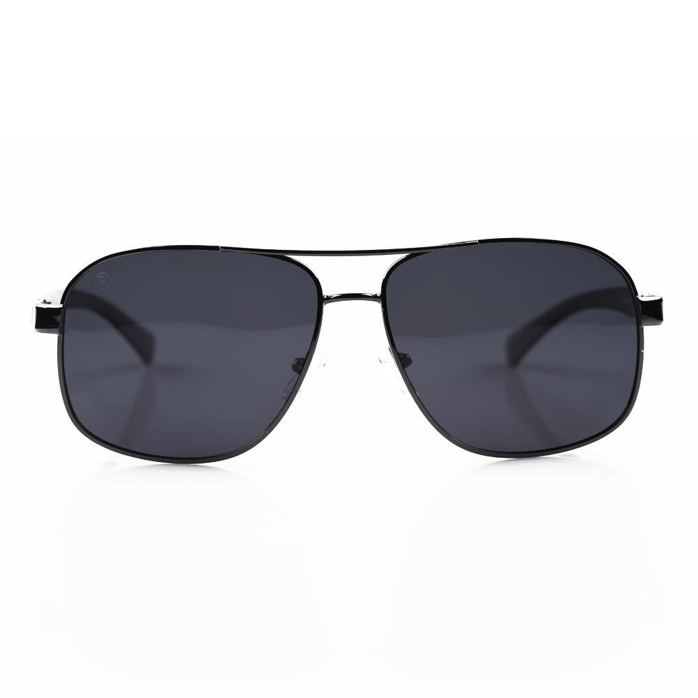 Black Aviator Square Specs