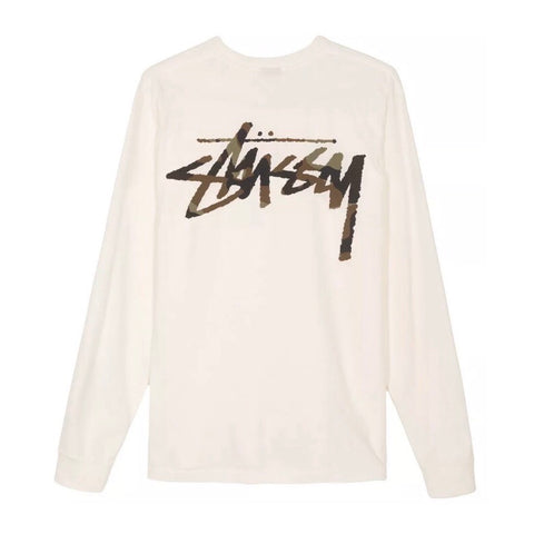 STUSSY CAMO STOCK LS POCKET