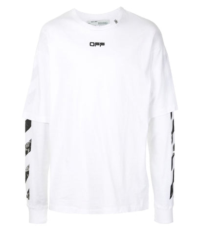 Off-white Caravaggio double sleeve T-shirt