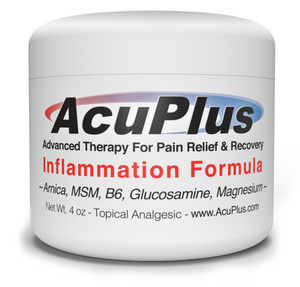 AcuPlus Pain Relief Cream, 4 oz. Jar