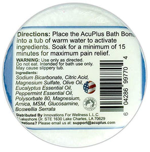 (3-Pack) AcuPlus Bath Bomb, 4.5 oz.