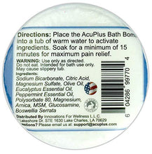 Load image into Gallery viewer, (12-Pack) AcuPlus Bath Bomb, 4.5 oz.