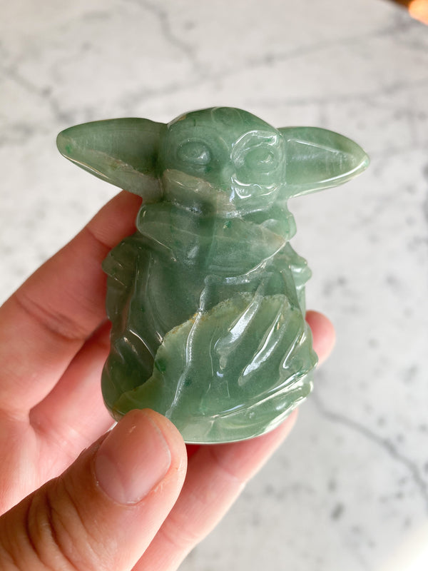Green Adveturine Yoda
