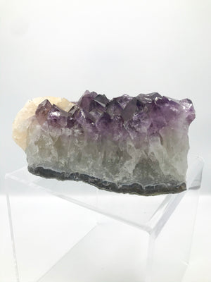 XL Amethyst with Calcite Chunk