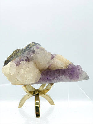 Small Amethyst with Calcite