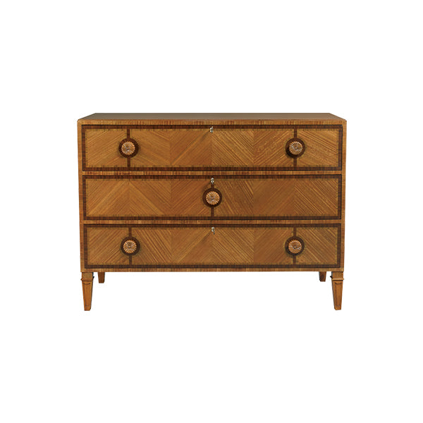 Mahogany & Rosewood Commode
